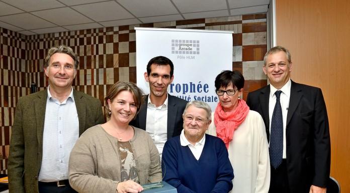 Prix du Trophée d'Utilité Sociale. 1er prix pour Mésolia