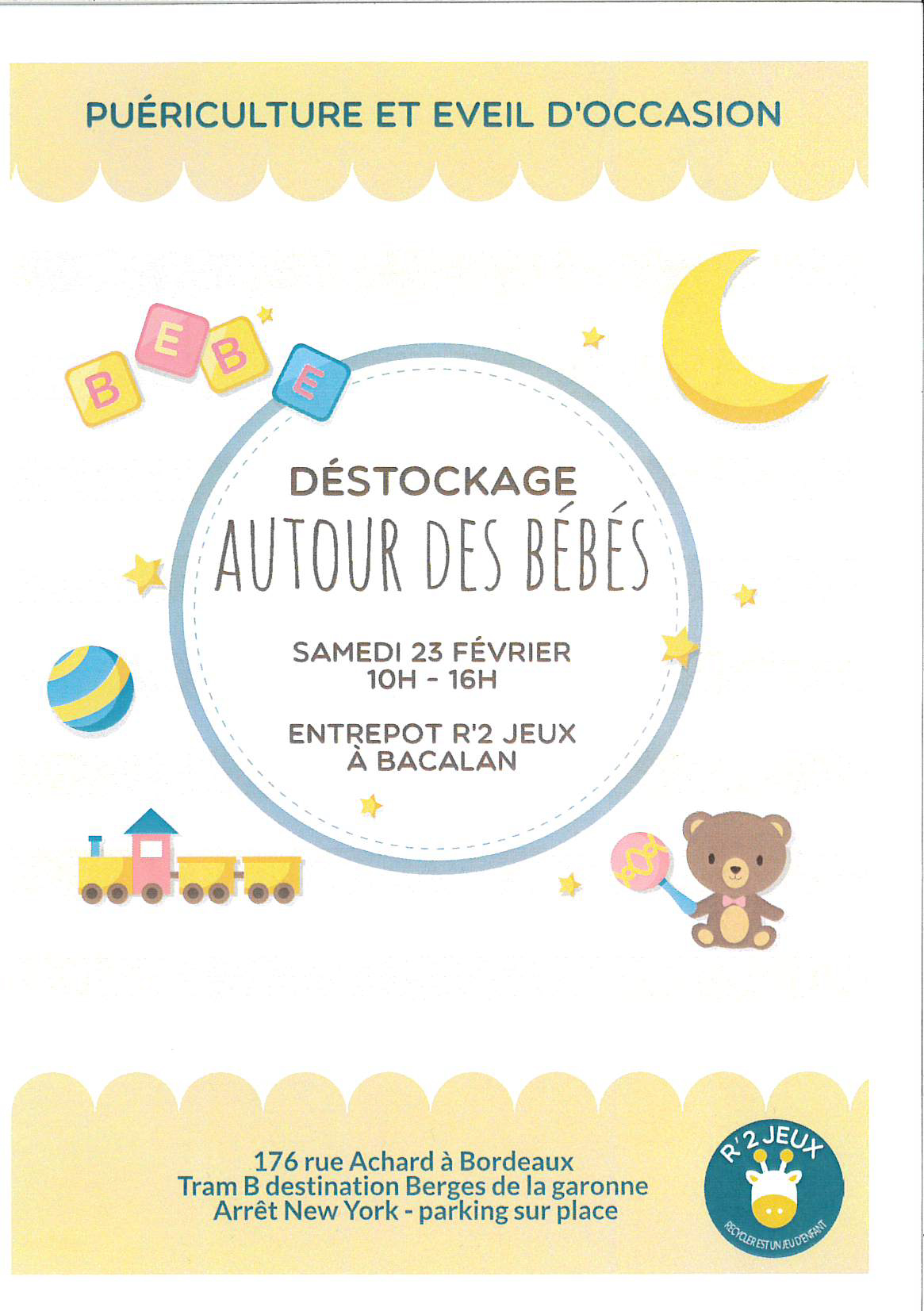 53a3d036abe74 Déstockage Autour des bébés - Journal de quartier Bacalan