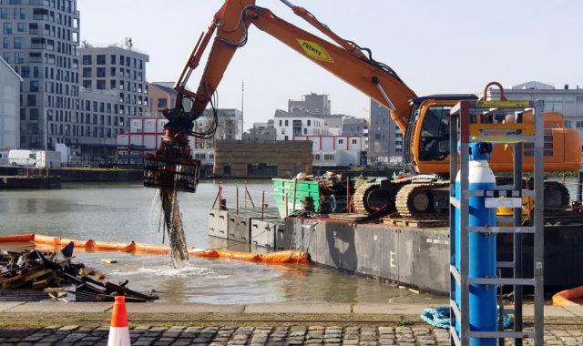 Les bureaux flottants des Bassins à flot