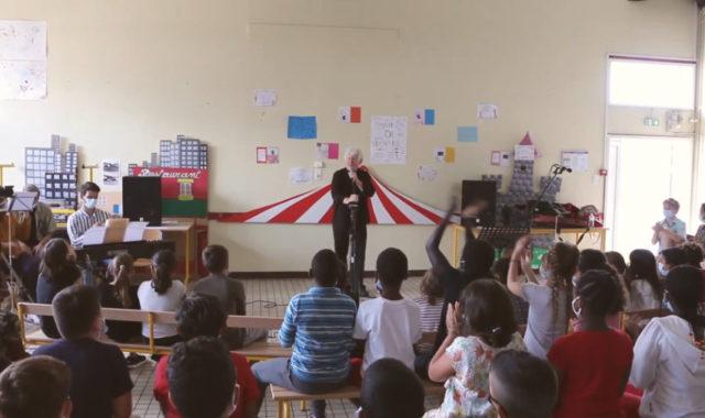 Un concert à l'école Anne Sylvestre